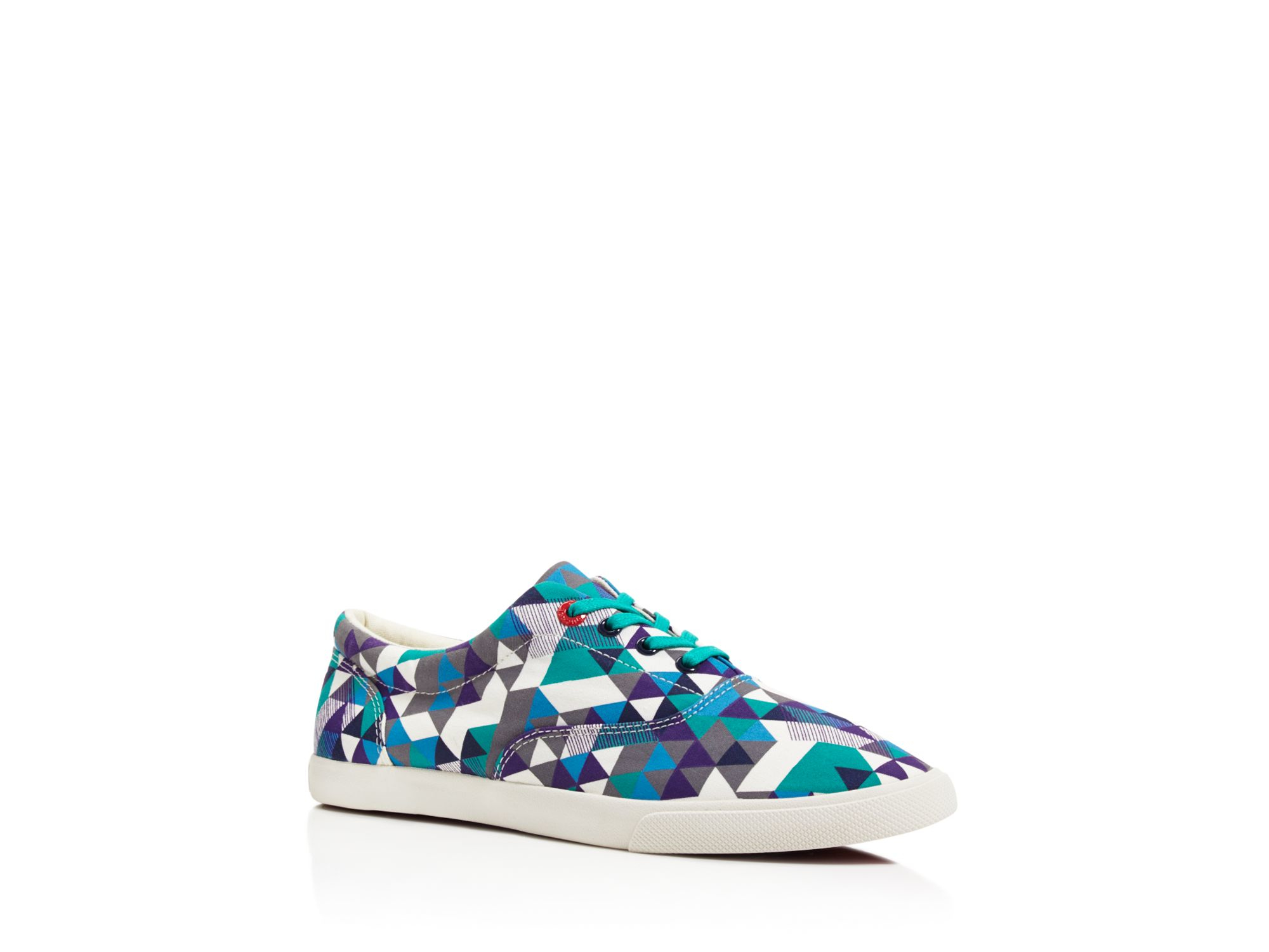 Bucketfeet Canvas Delta Lace Up Sneakers