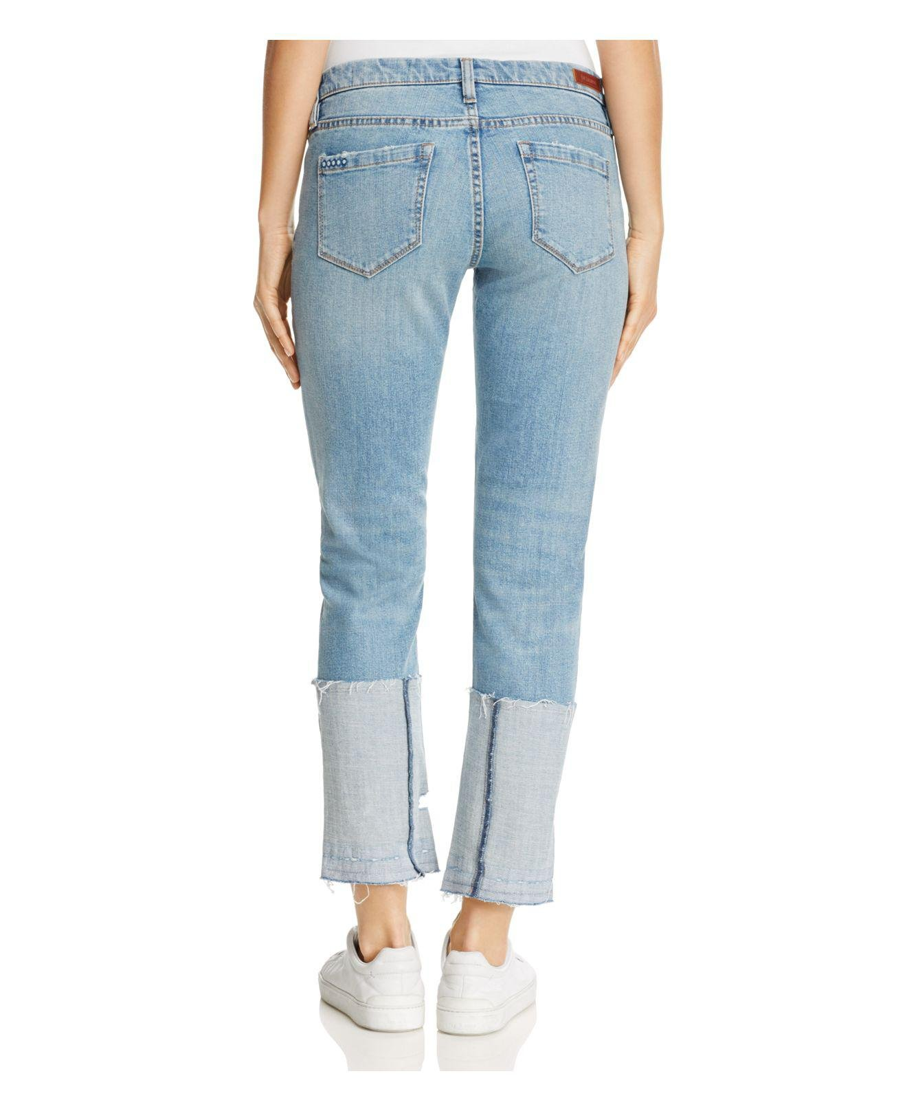 Blank NYC Denim Deep Cuff Jeans In Closet Case in Blue