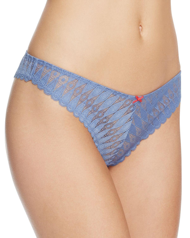 93c5751df43f Lyst - Heidi Klum Dreamtime Thong #h37-1224 in Blue