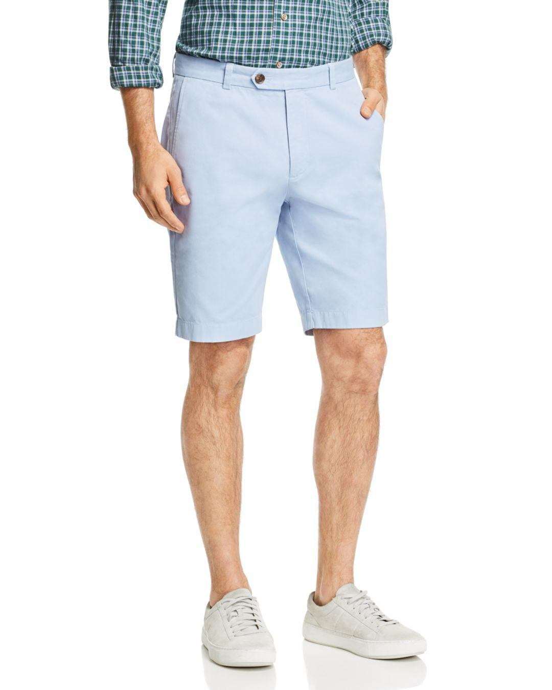 350d6939be Lyst - Brooks Brothers Garment-dyed Bermuda Shorts in Blue for Men