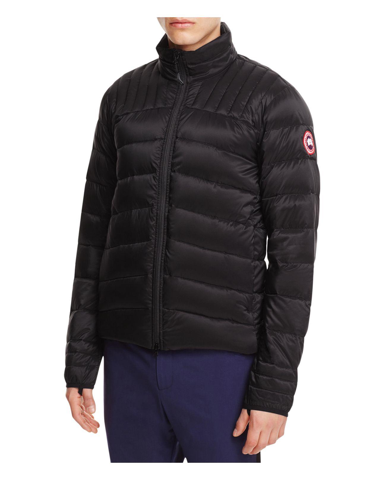 Canada Goose Brookvale Down Jacket In Black For Men Lyst