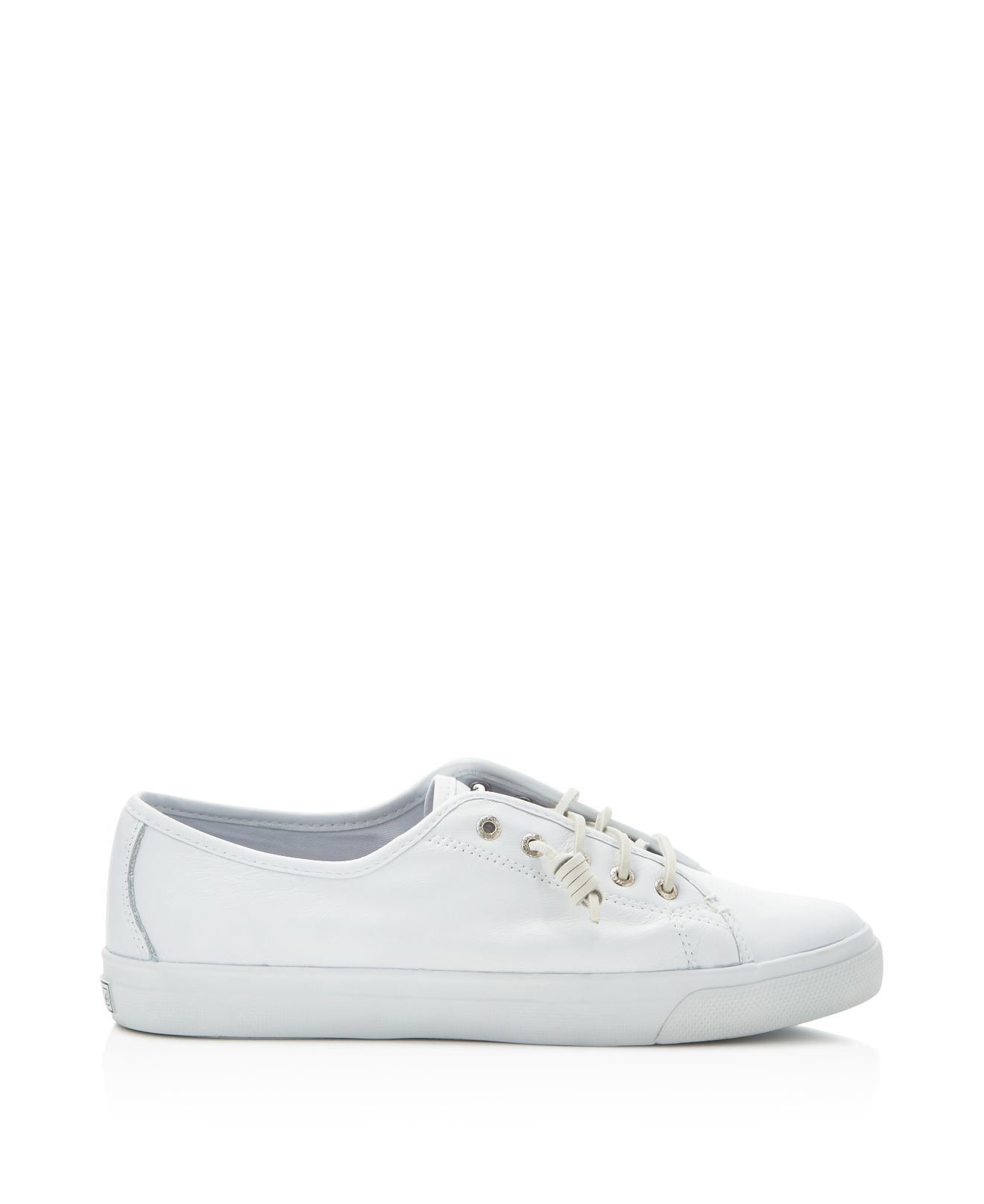 Sperry Top-Sider Leather Seacoast Sneakers in White