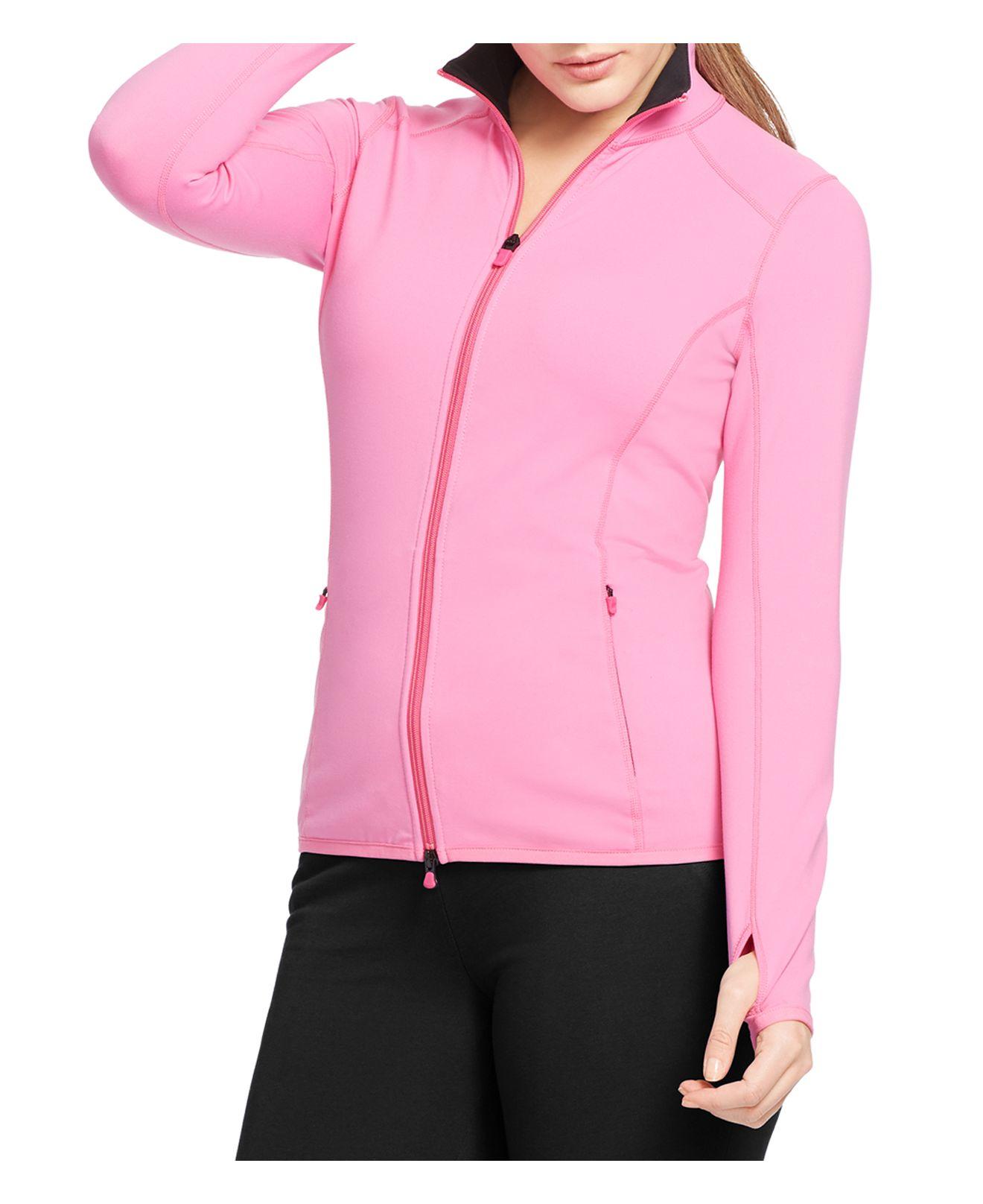 Pink pony Lauren Plus Active Jacket in Pink (Ribbon Pink