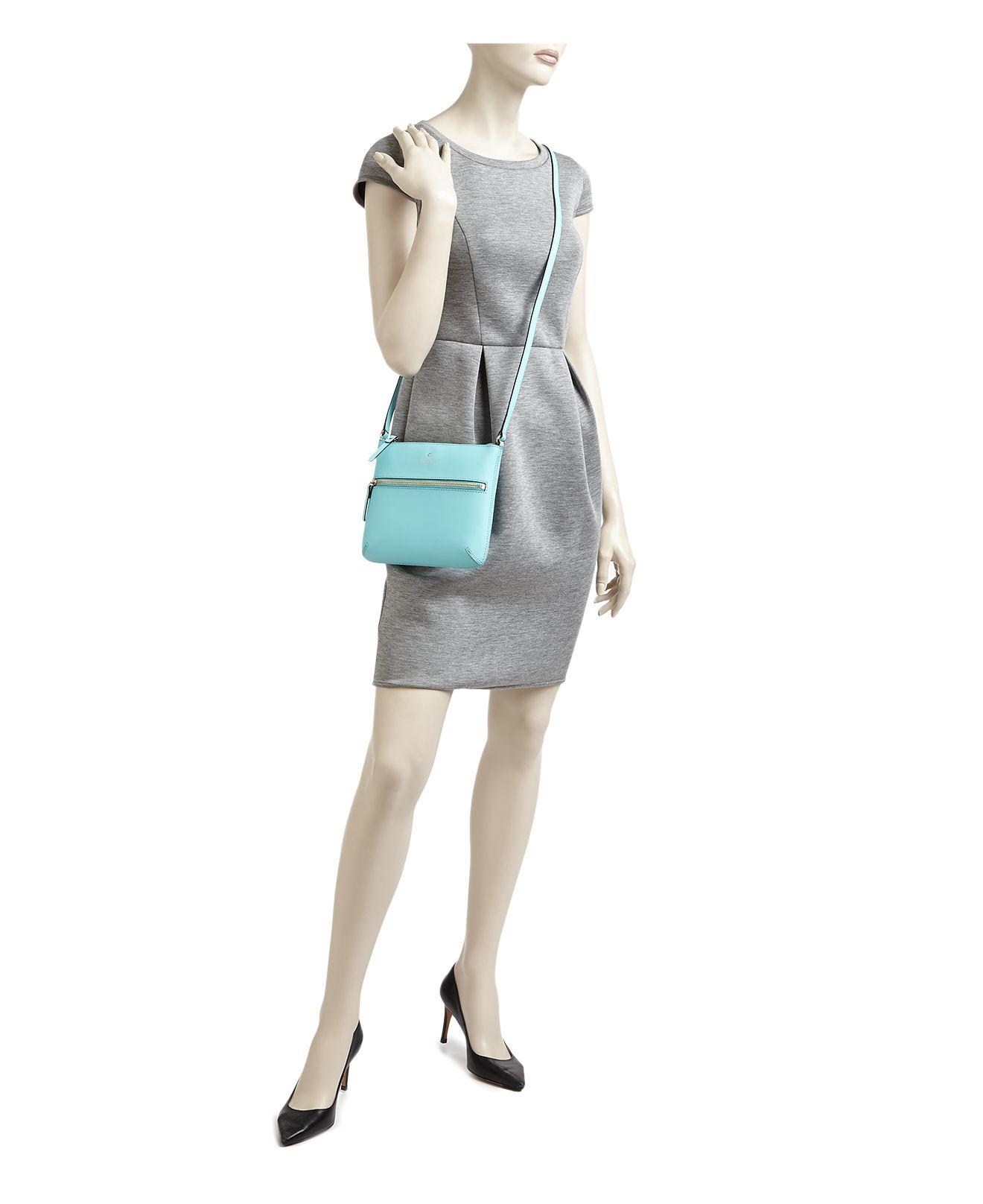 Kate Spade Leather Cedar Street Tenley Crossbody in Blue