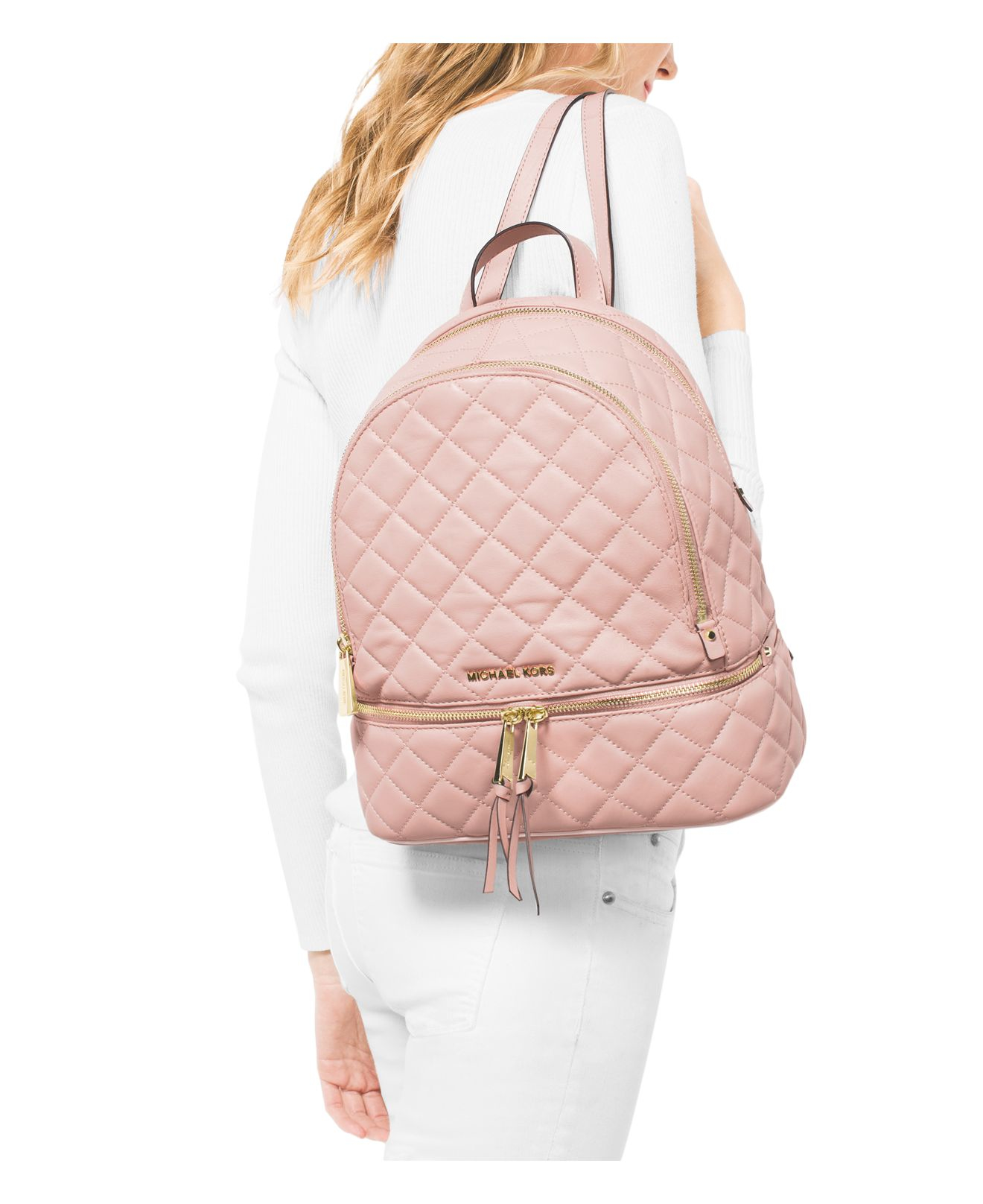 d070866ee201 Gallery. Previously sold at  Bloomingdale s · Women s Michael By Michael  Kors Rhea Women s Michael Kors Quilted Bag