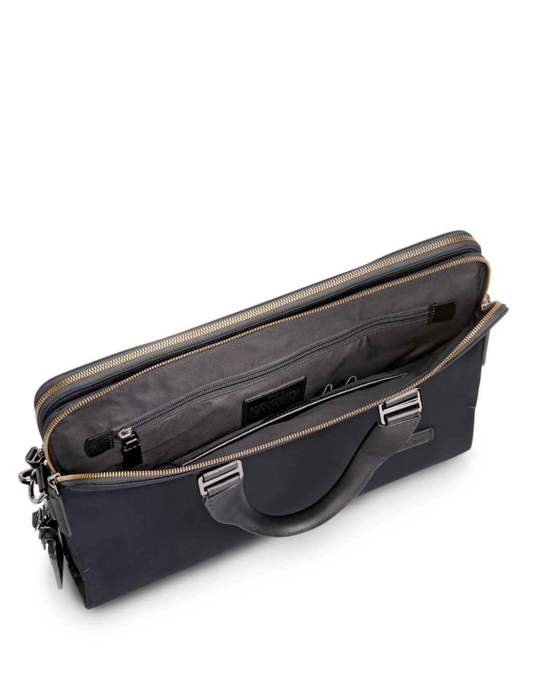 40c99a1384ea Lyst - Tumi Harrison Nylon Seneca Slim Briefcase in Black for Men - Save 14%