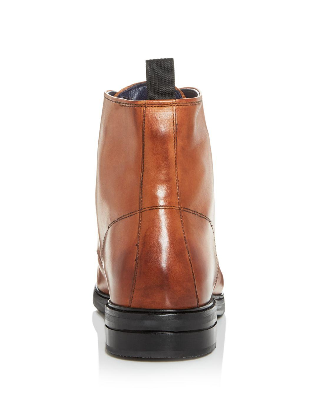 080226e4390 Cole Haan Brown Men's Wagner Grand Leather Cap - Toe Boots for men