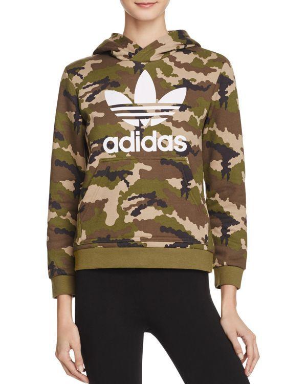 adidas originals camo hoodie sweatshirt in multicolor lyst. Black Bedroom Furniture Sets. Home Design Ideas