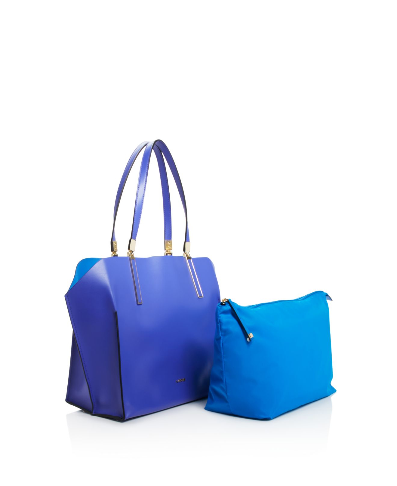 Lodis Synthetic Blair Anita Tote - Compare At $298 in Purple (Blue)