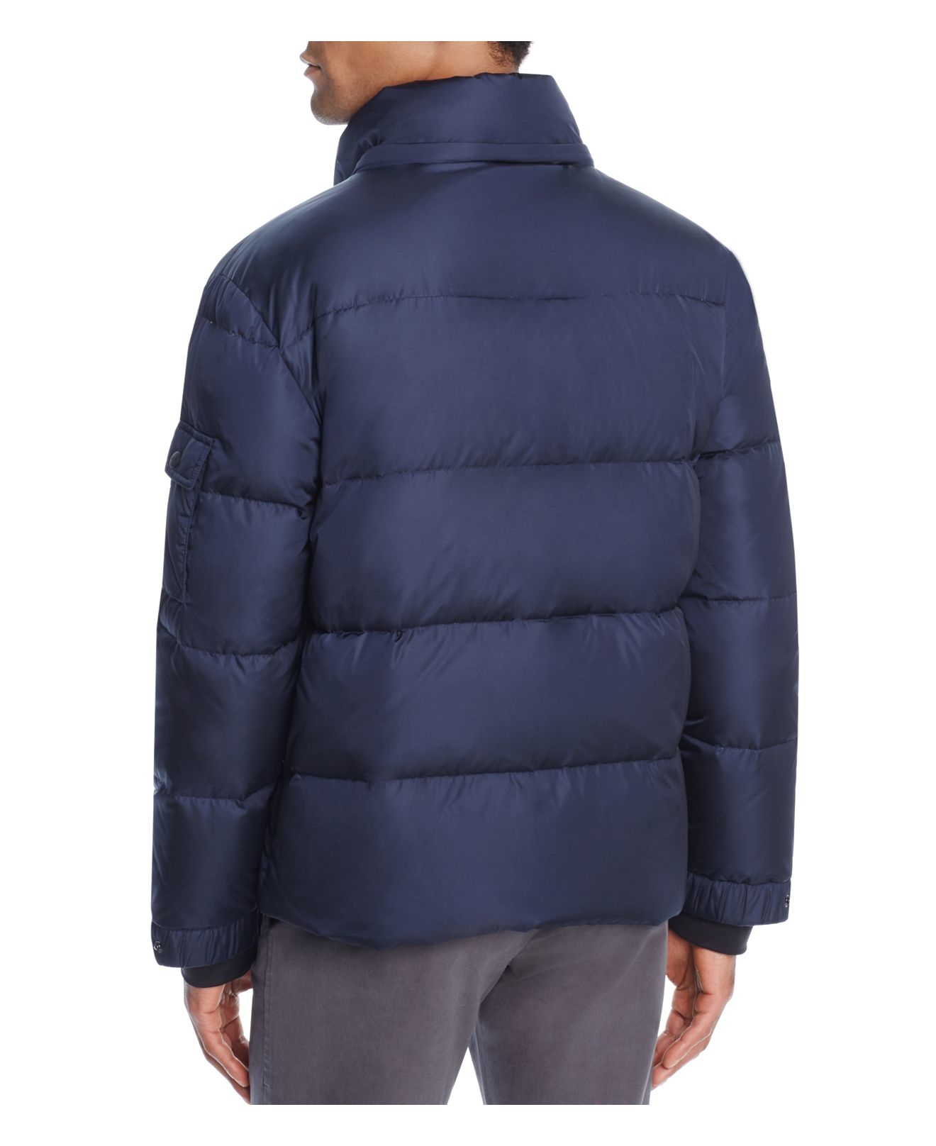 Sam. Goose Commander Down Jacket in Navy (Blue) for Men