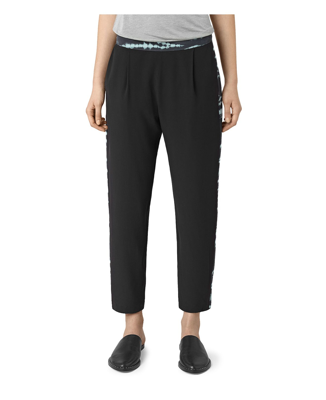Perfect Women39s Tie Waist Culotte Pant Black  Mossimo Product Details Page