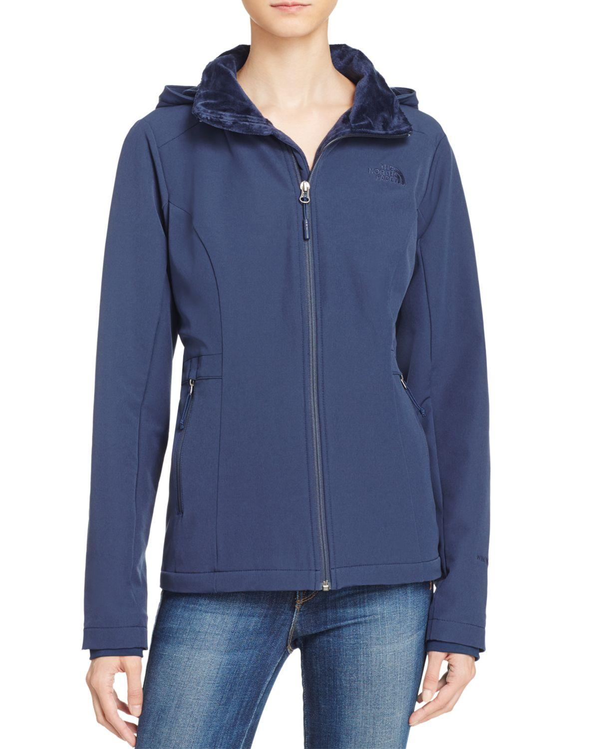 20f92602c The North Face Blue Shelbe Raschel Hoodie