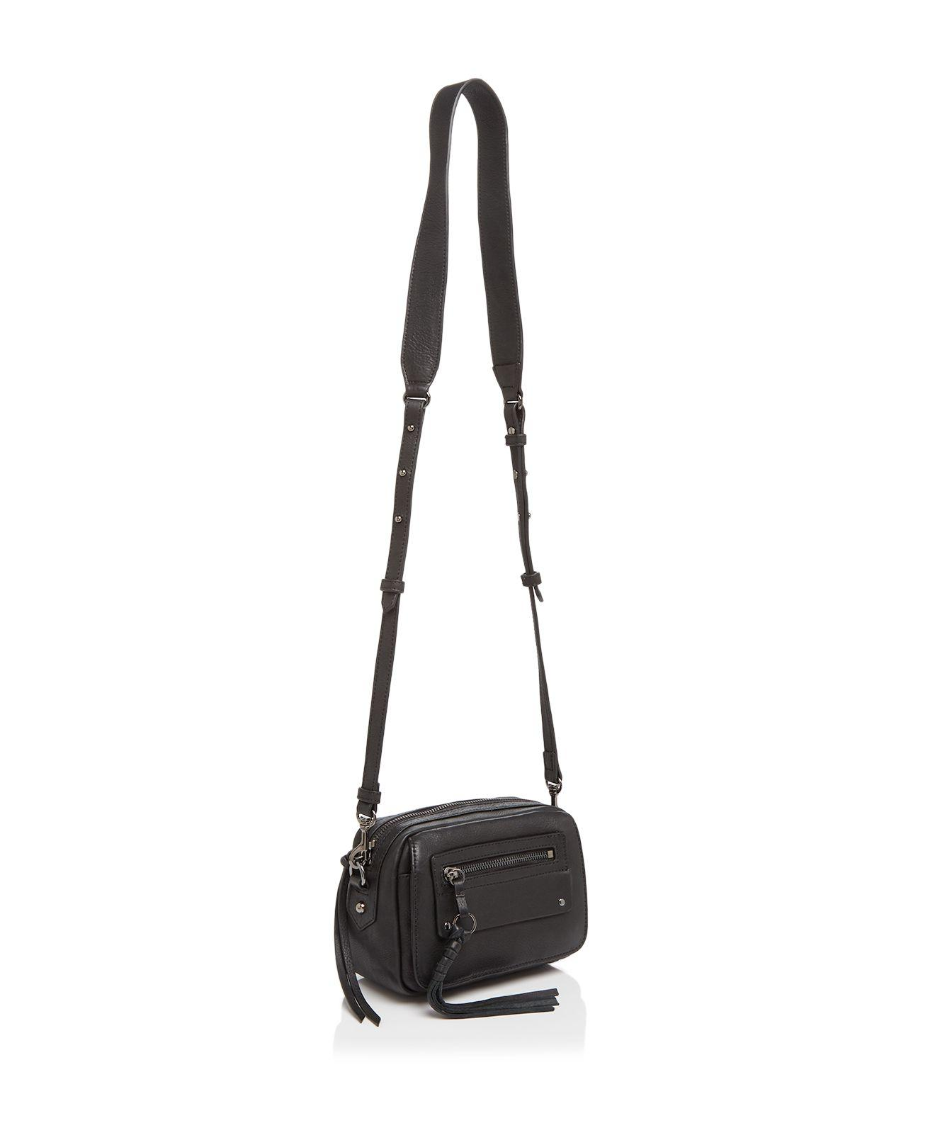 Treesje Leather Lidia Mini Flap Camera Crossbody