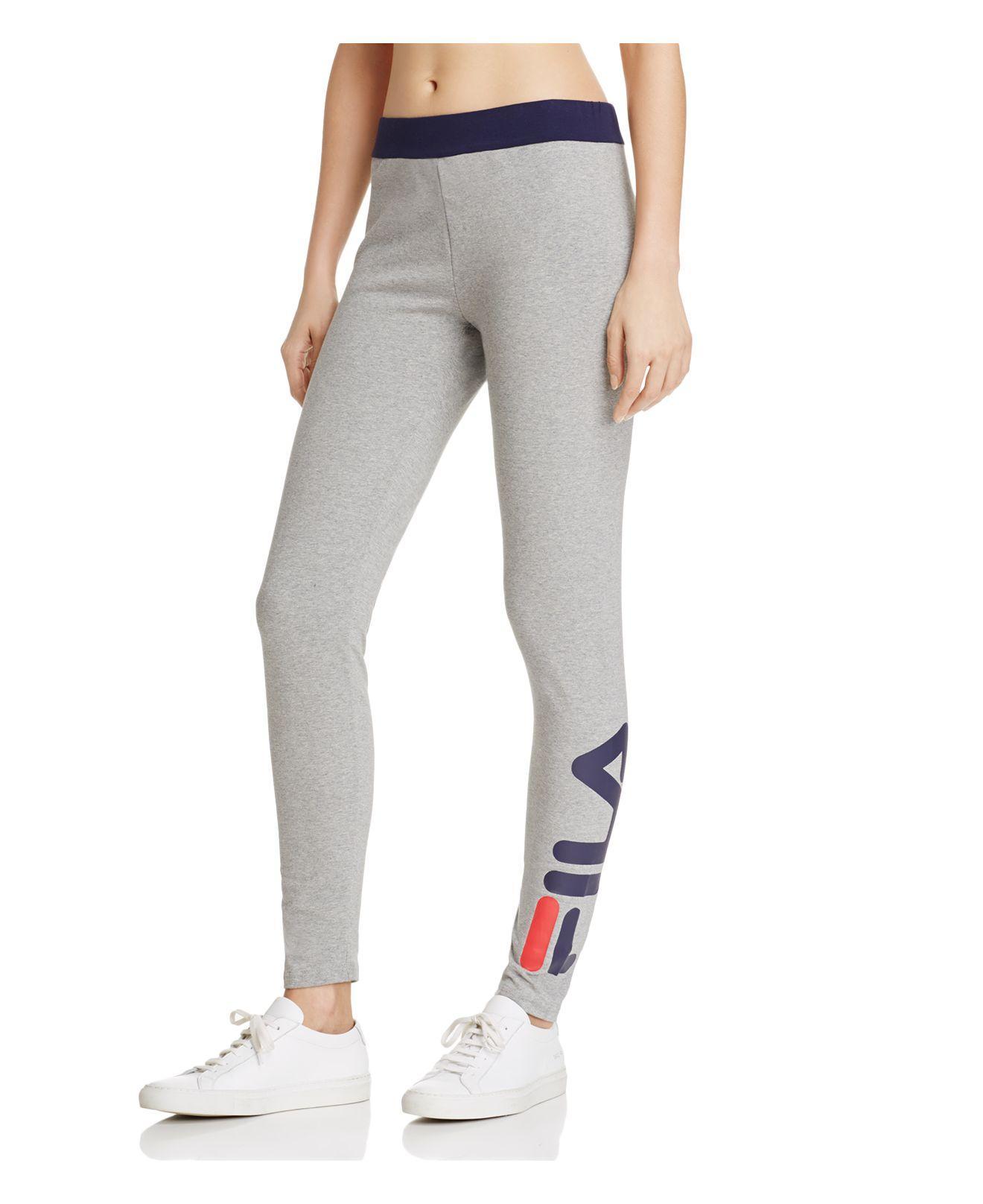 fila leggings grey \u003e Clearance shop