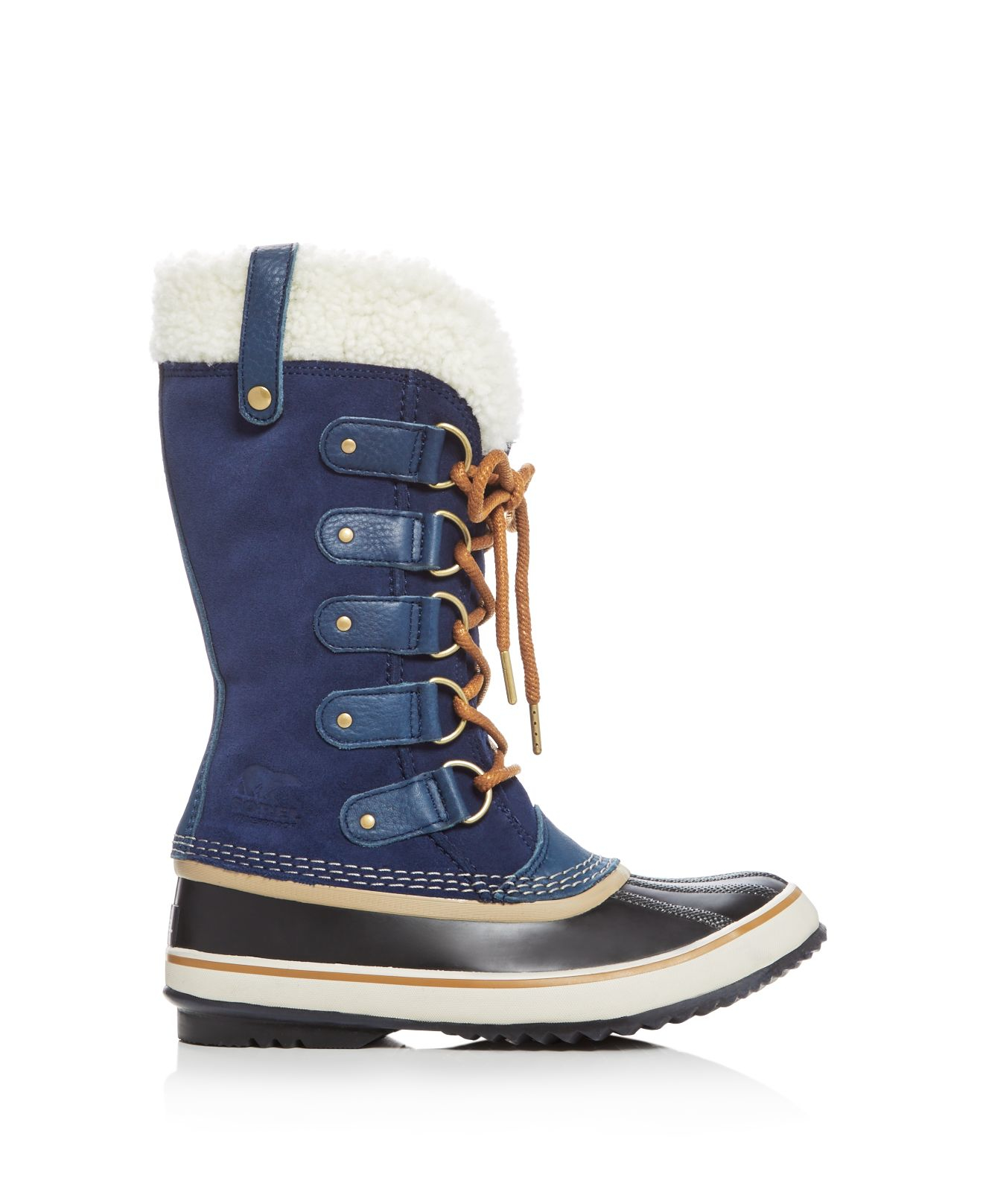 Sorel Felt Joan Of Arctic Shearling Cold Weather Boots in Blue