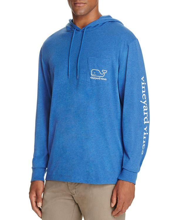 Vineyard vines Heathered Whale Pullover Hoodie in Blue for ...