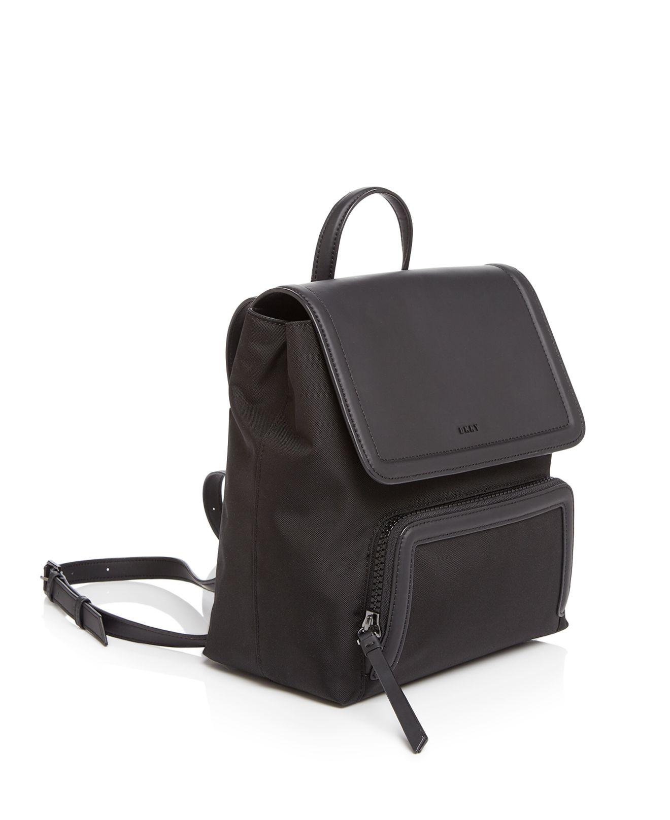 DKNY Synthetic Nylon Backpack in Black