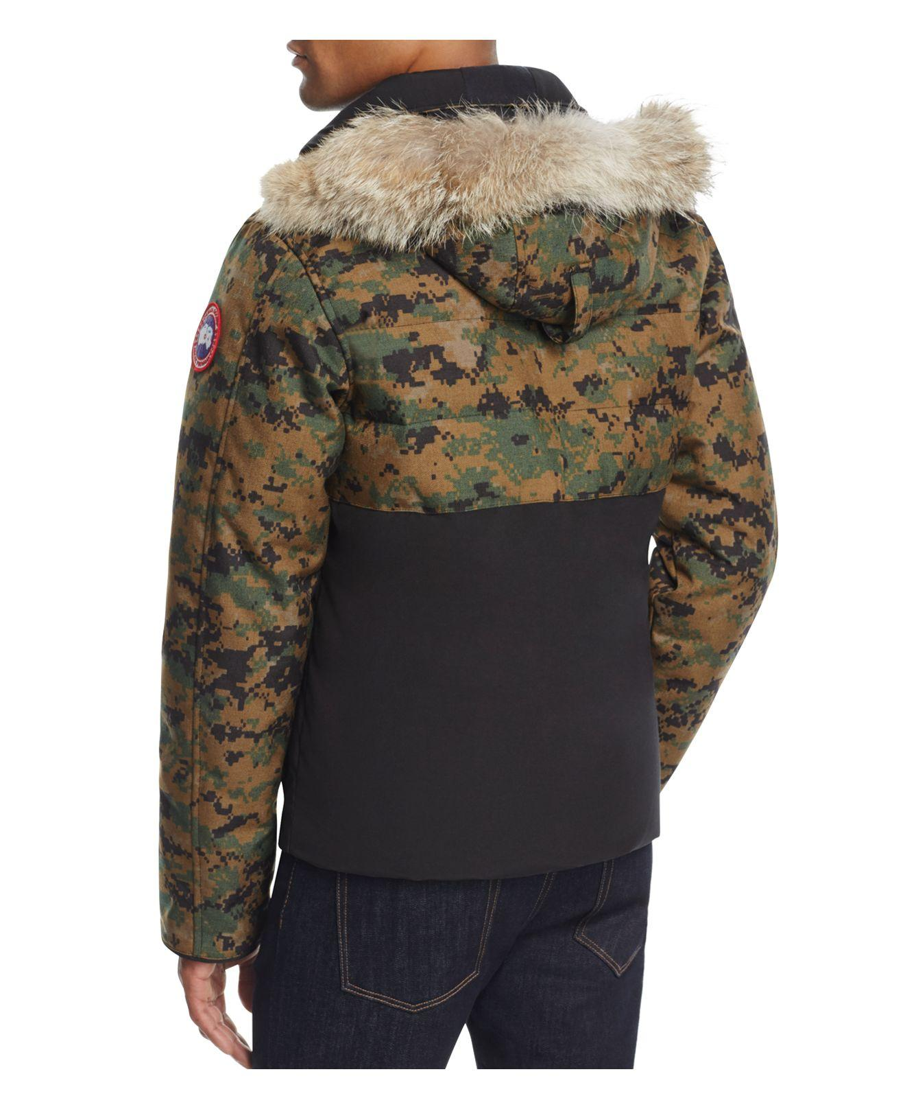 Canada Goose Goose Woodland Down Parka in Camo (Green) for ...