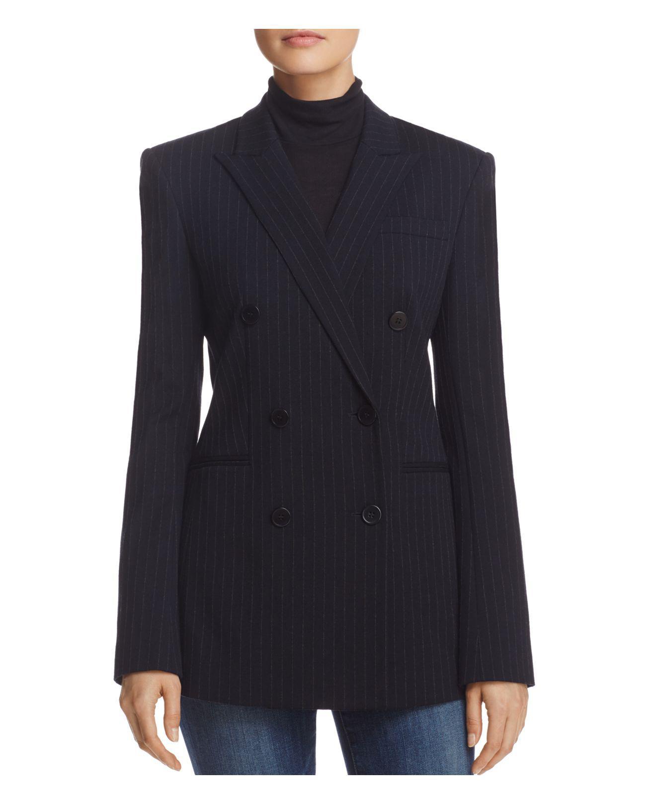 NEW MENS Tessori Dark Navy Pinstripe Blazer Sportscoat