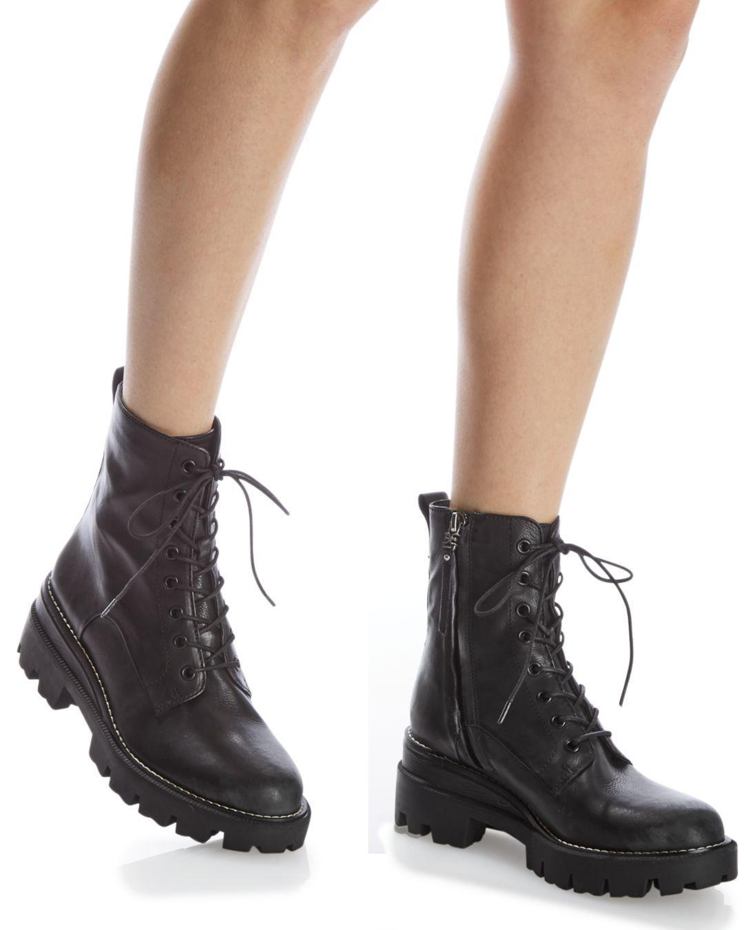 Sam Edelman Womens Garret Combat Boot