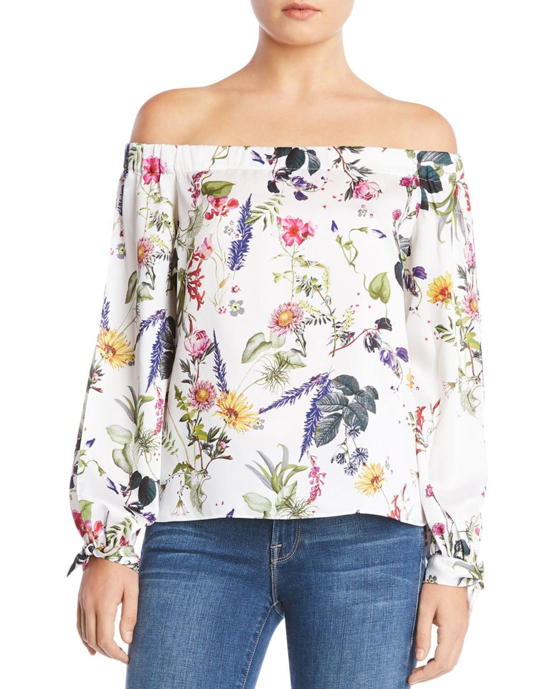 ceff3f363a209 Gallery. Previously sold at  Bloomingdale s · Women s One Shoulder Tops ...