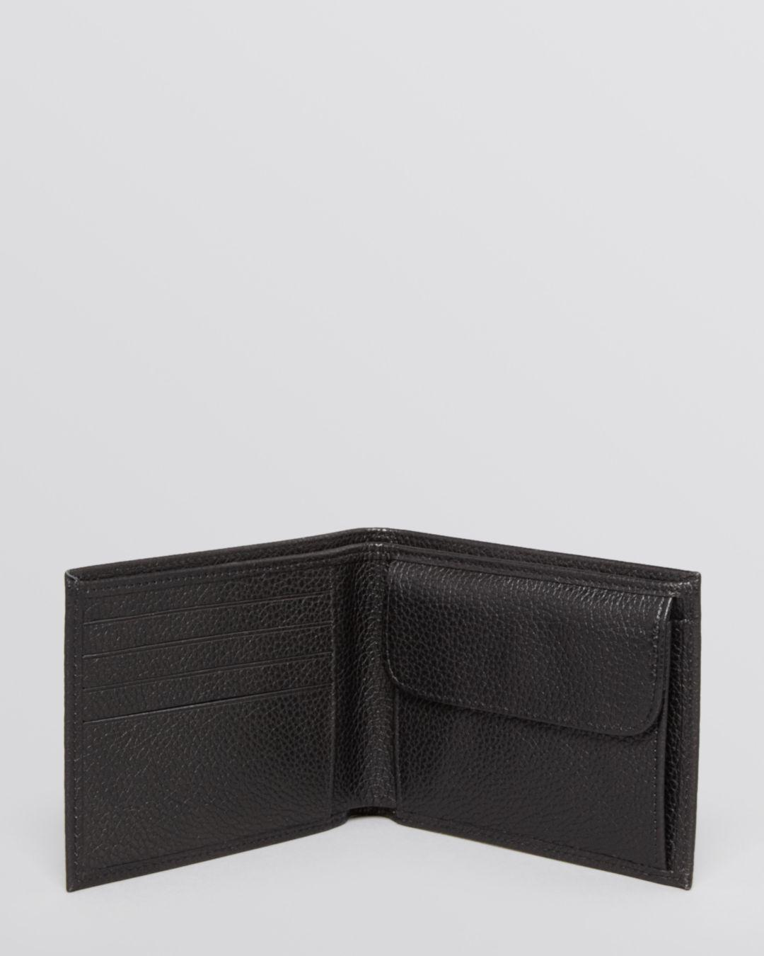Le Foulonné Bifold Wallet With Coin Pouch