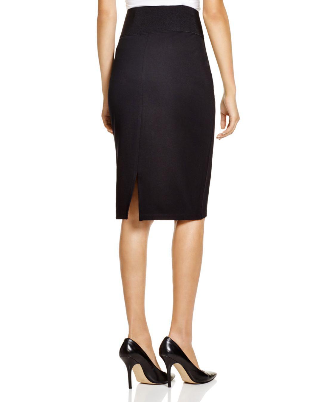 5f4042a5a12c Calvin Klein Pencil Skirt in Black - Lyst