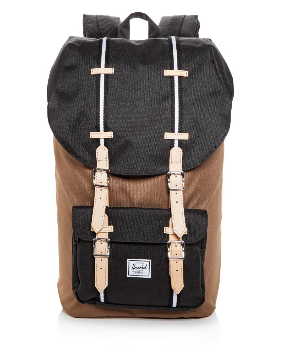 64850a56634 Lyst - Herschel Supply Co. Classic Little America Backpack in Black ...