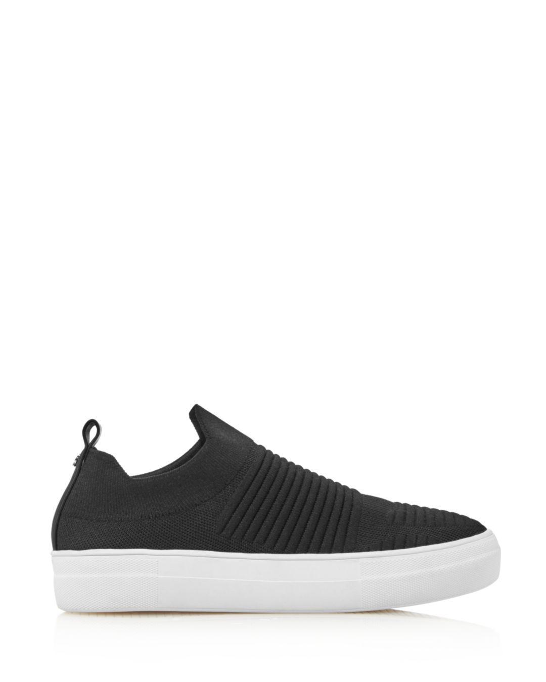Kate Spade Women's Gerrard Knit Slip-on Platform Sneakers in Black