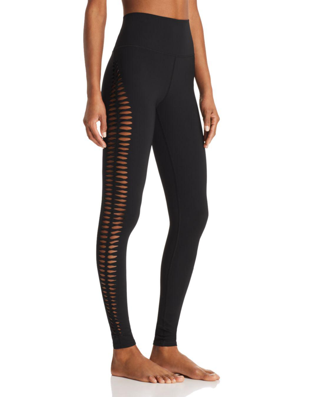 f1cc4da87c Lyst - Alo Yoga Reform Leggings in Black