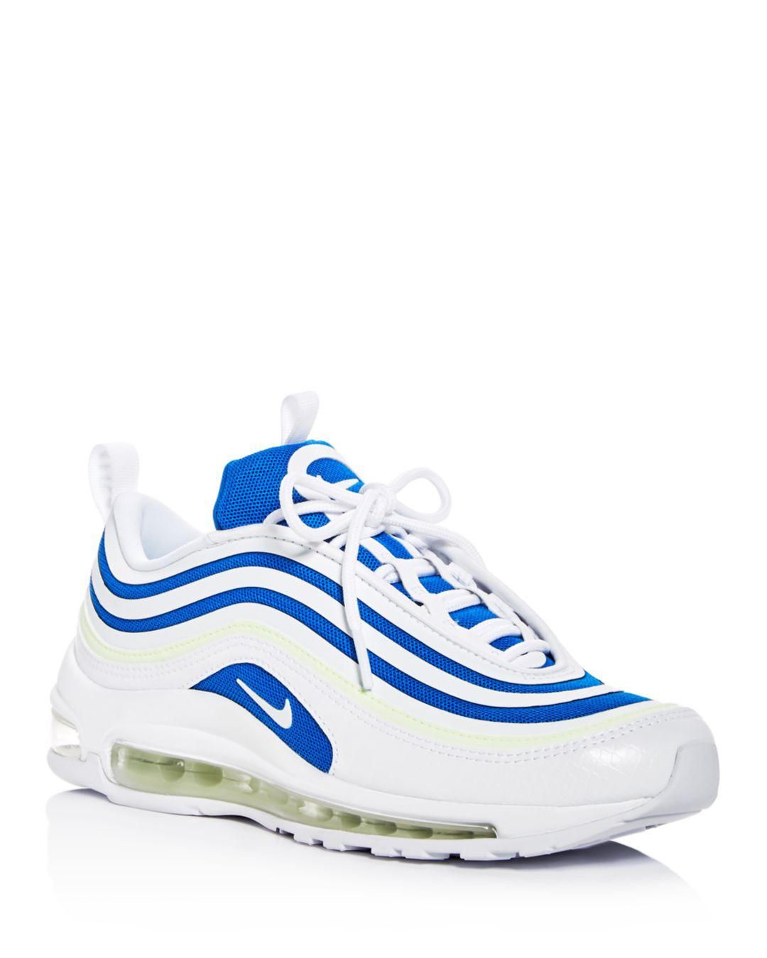 Nike Women's Air Max 97 Ultra '17 Se Lace Up Sneakers in White ...