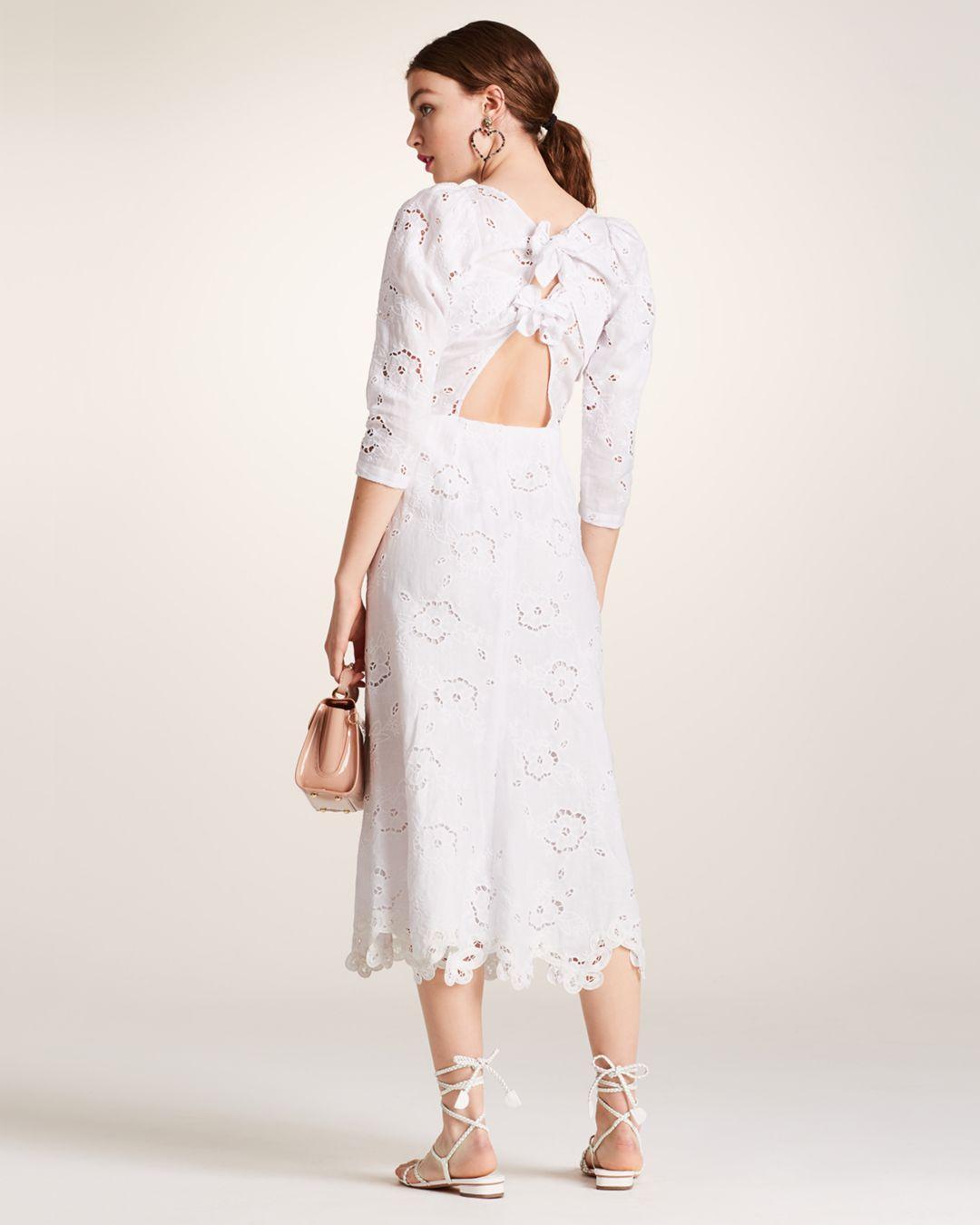9b1e3f3c83 Lyst - Rebecca Taylor Terri Embroidered Dress