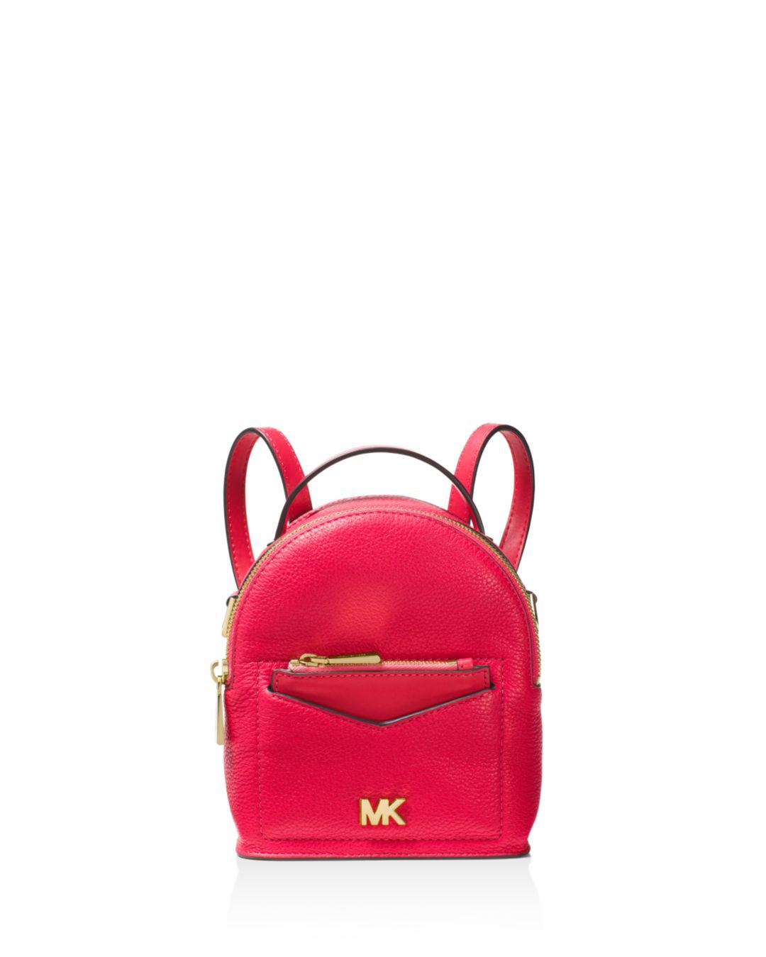 c881c214449ea9 MICHAEL Michael Kors Jessa Extra Small Convertible Leather Backpack ...