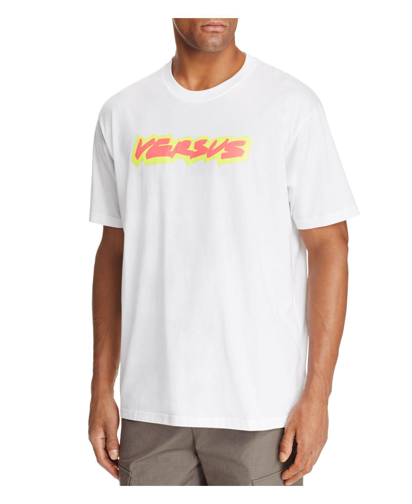 neon logo t-shirt Versus Cheap Sale Clearance Store New Lower Prices For Sale Official Site Cheap Shopping Online Cheap Sale Ebay HUL3LPE