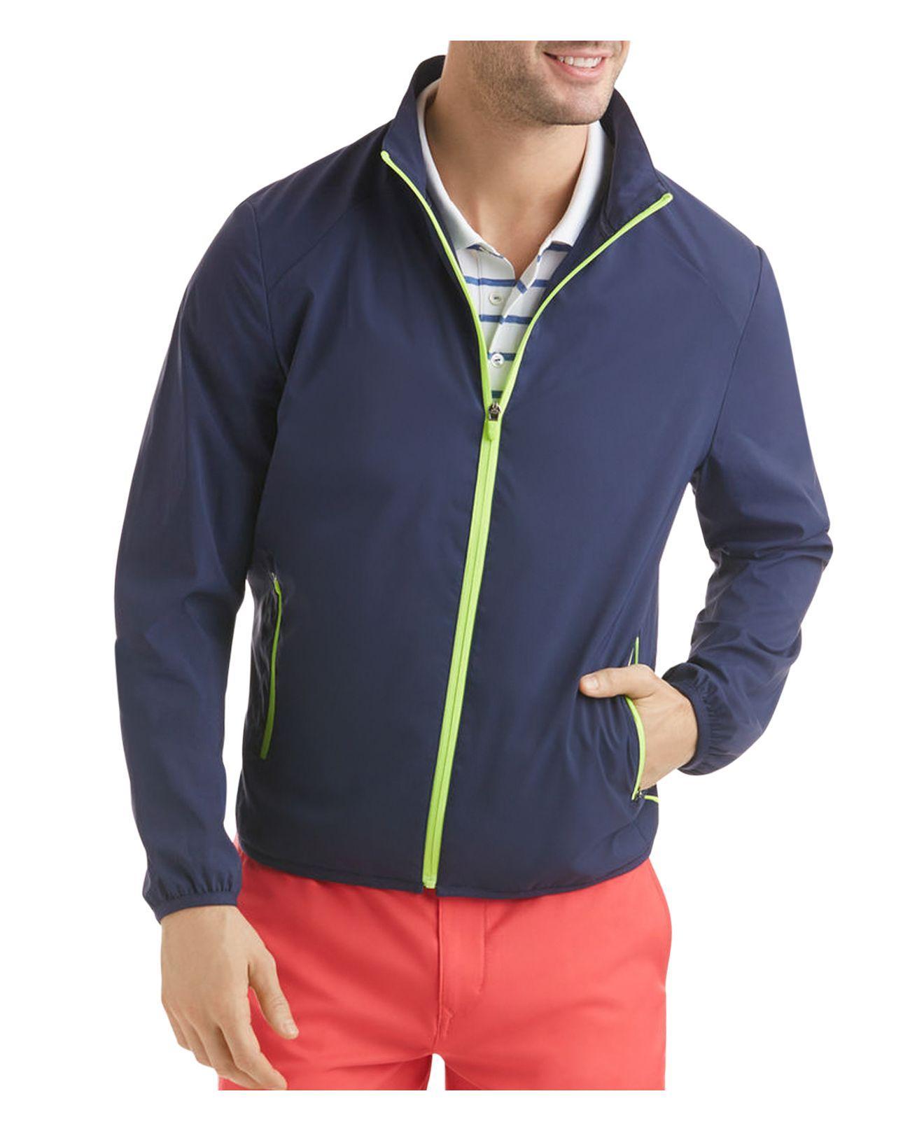 Vineyard Vines Cloudburst Golf Jacket In Blue For Men Lyst