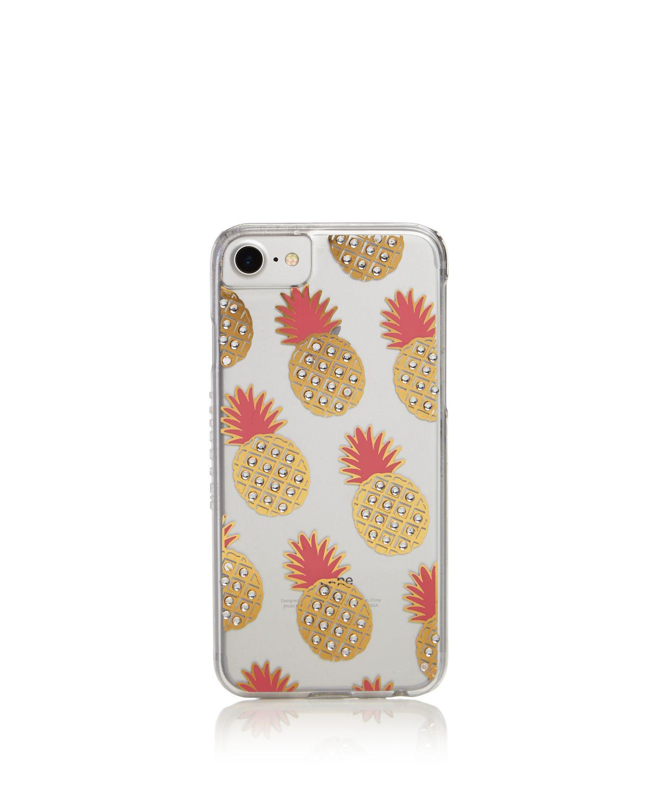 factory authentic 22ee0 3bf3c Skinnydip London Metallic Pink Pineapple Iphone 6/7 Case