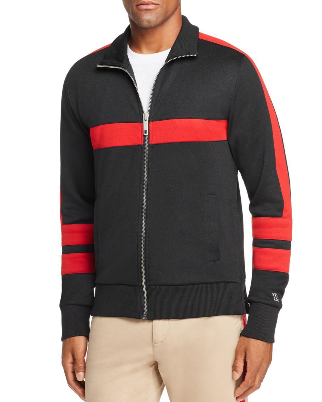 3e8bcf544bd1 Tommy Hilfiger X Lewis Hamilton Logo Track Jacket in Black for Men ...