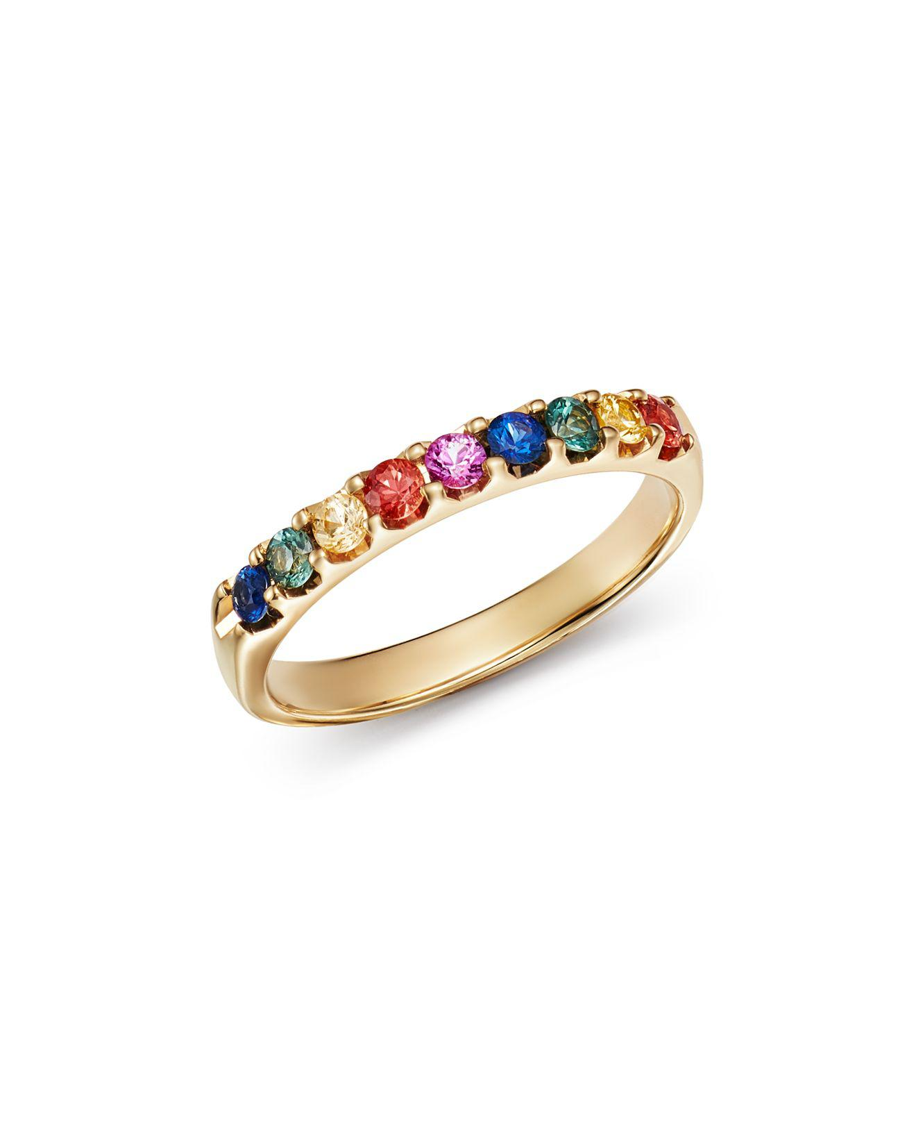 band p chaumet ring betteridge sapphire multicolored