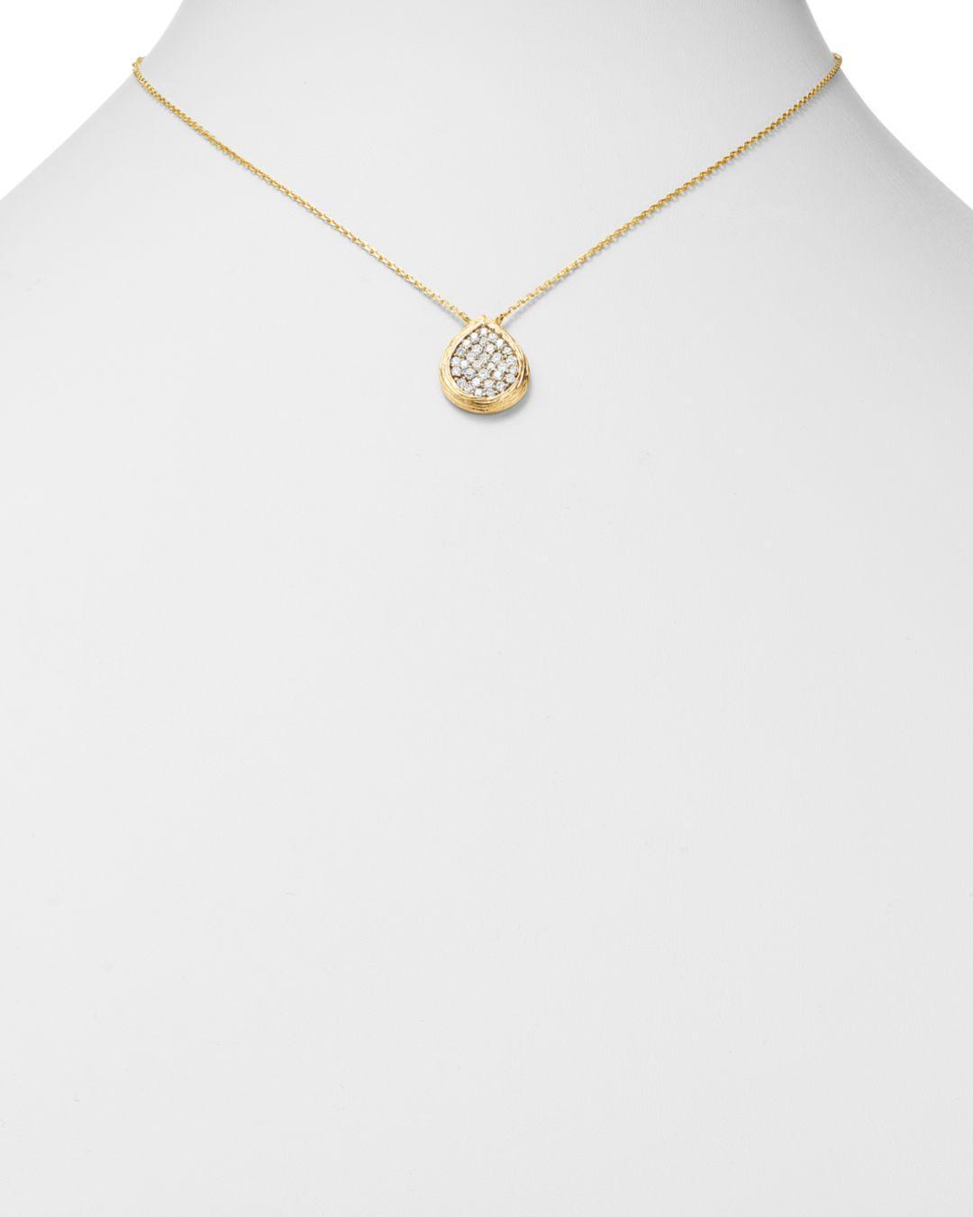 Best Designer Jewelry 14k White Gold Polished /& Textured Small Filigree Teardrop Pendant