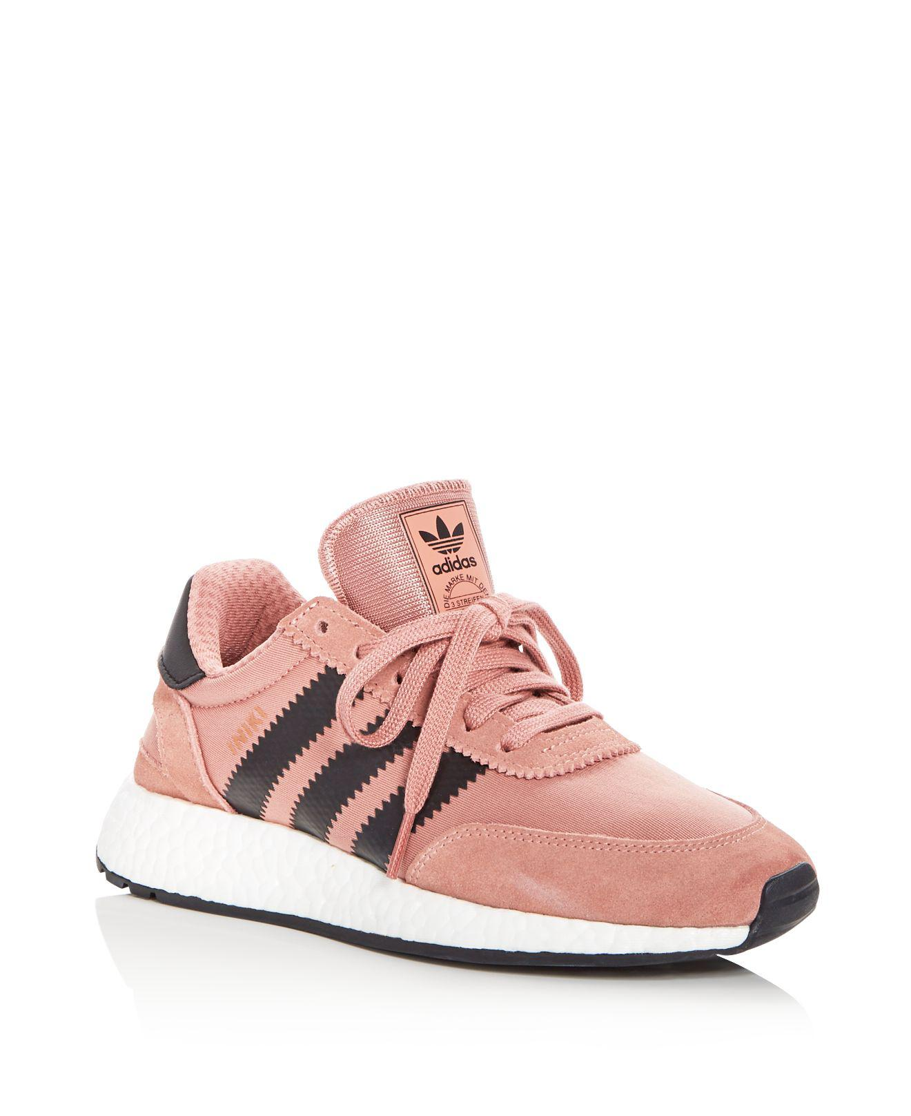 Adidas - Pink Women's I5923 Lace Up Sneakers - Lyst. View Fullscreen