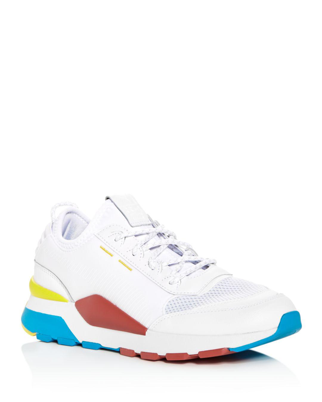 Lyst - PUMA Men s Rs-0 Play Running Sneakers in White for Men 0d8a39f14