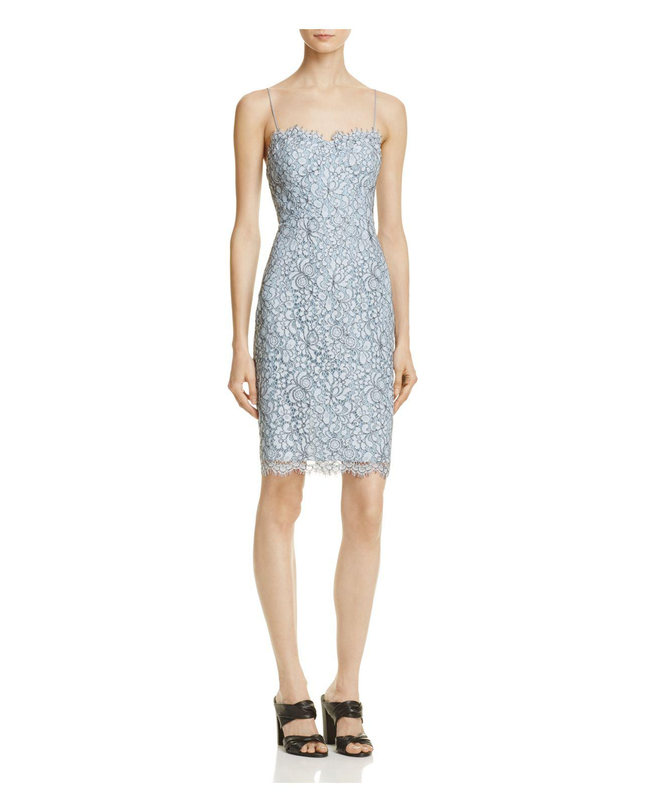 647703baab Lyst - Likely Spruce Lace Dress in Blue