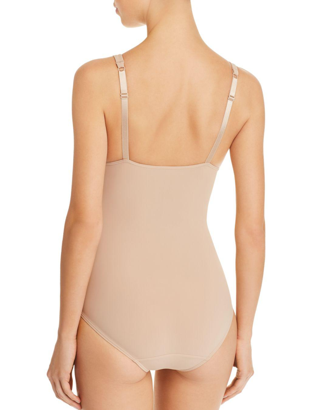 493af4d612 Lyst - Wacoal Slenderness All-in-one Bodysuit in Natural - Save 55%