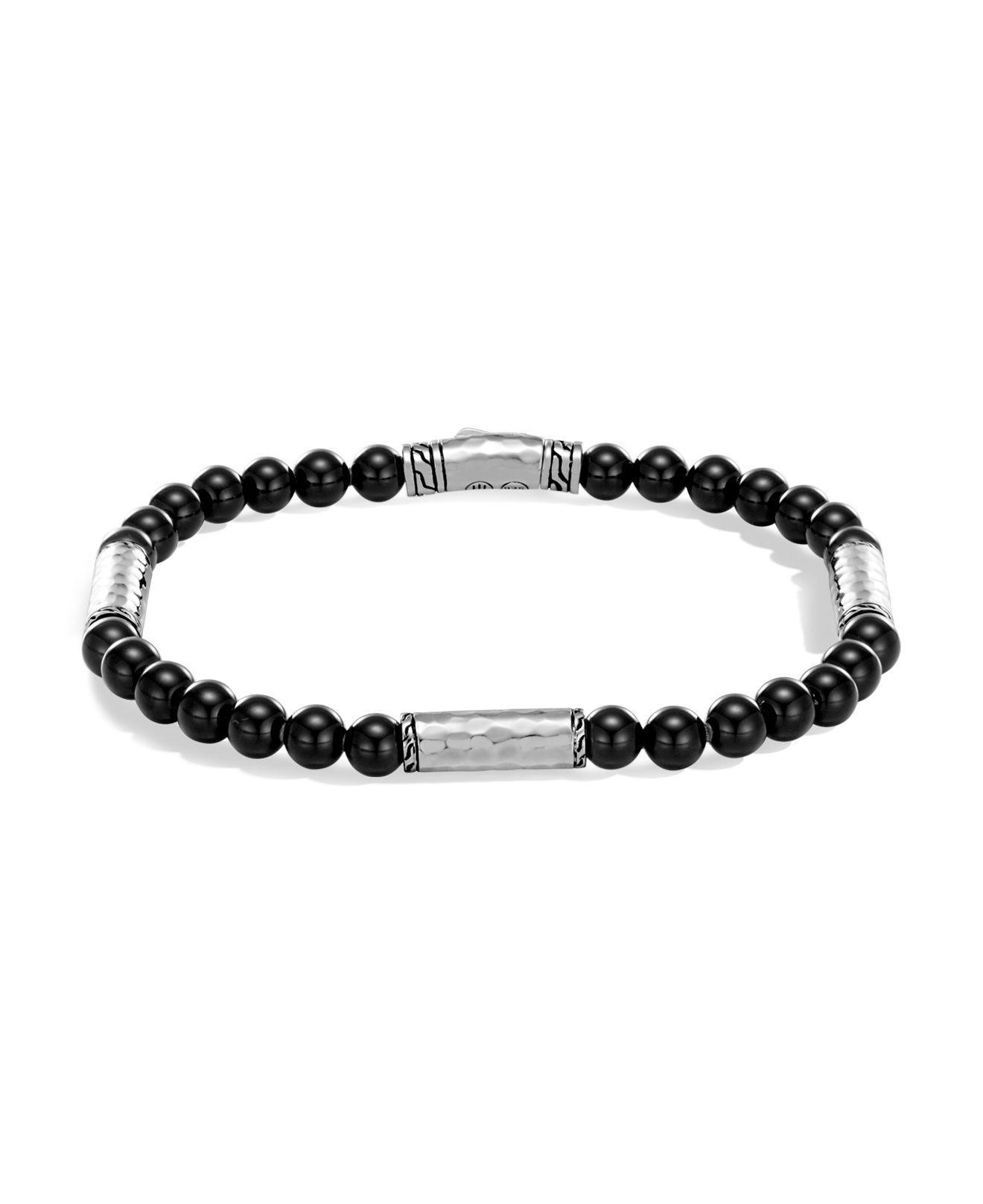 John Hardy Black Onyx Bead Bracelet ei14jZy