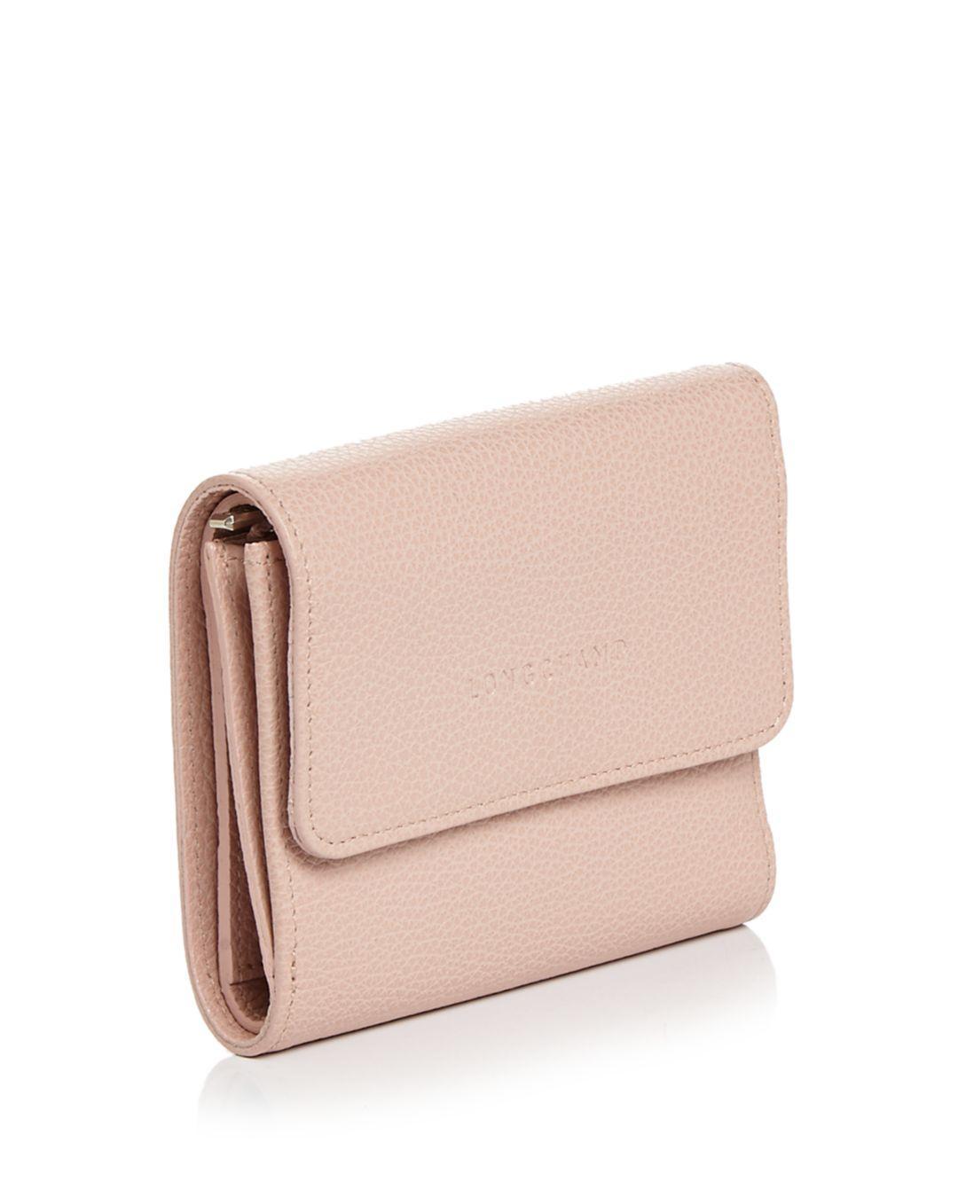 Le Foulonné Leather Compact Wallet