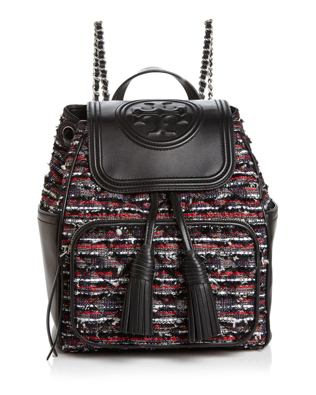94eda2bee50 Tory Burch. Women s Fleming Tweed Backpack