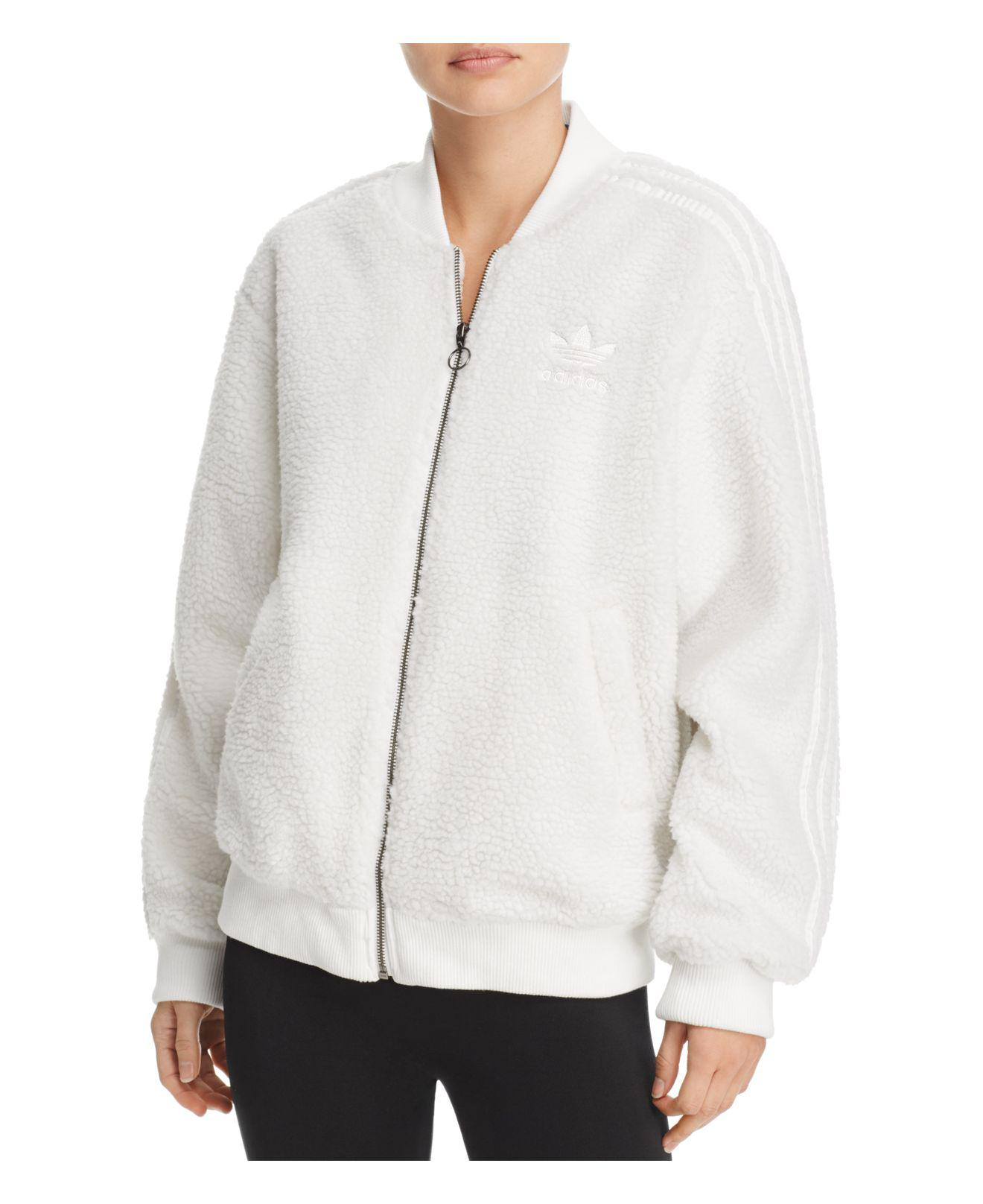 adidas fleece sweater
