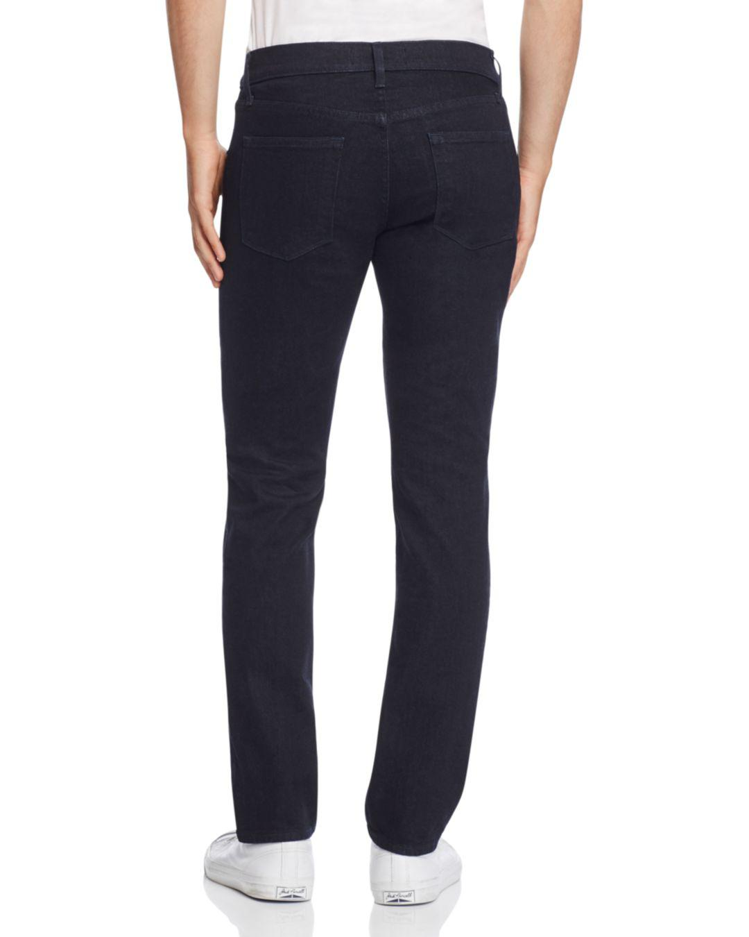 J Brand Denim Kane Straight Fit Jeans In Dark Blue for Men