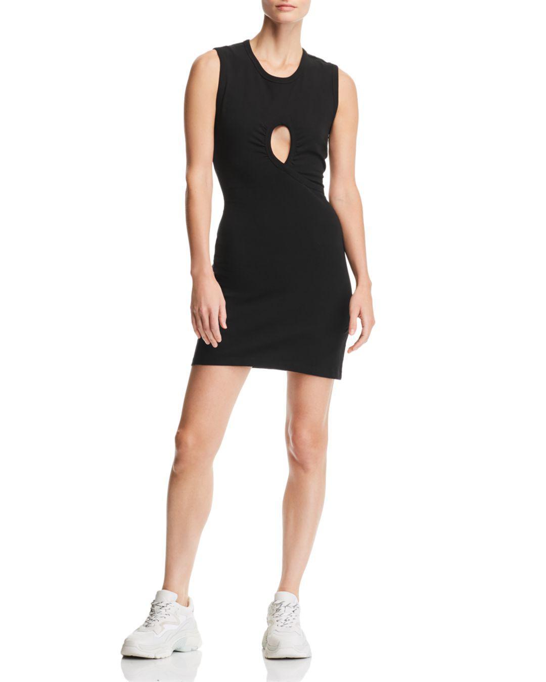 T Wang Twist Alexander High In Dress Black Jersey Lyst By rfE1wSqr