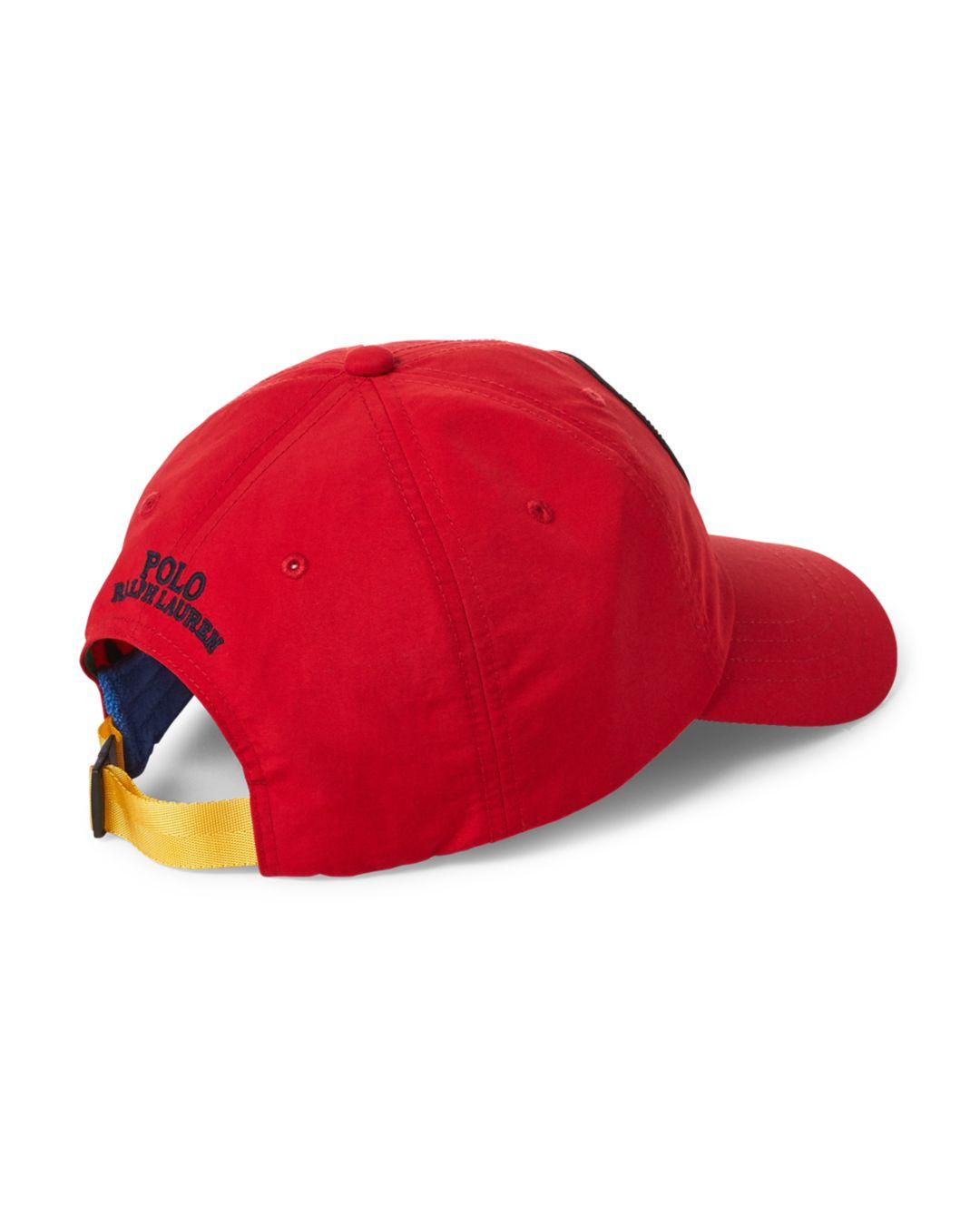 cccddb5c388 Lyst - Polo Ralph Lauren Great Outdoors Classic Sports Cap in Red for Men -  Save 21%